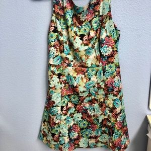 Size small floral dress - church Easter